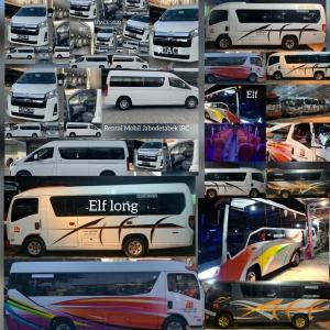 Tempat sewa mobil elf murah Jakarta